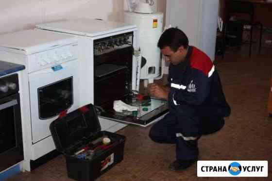 Установка и ремонт газовых плит,колонок Волжский