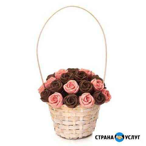 Букеты из шоколадных роз Пермь