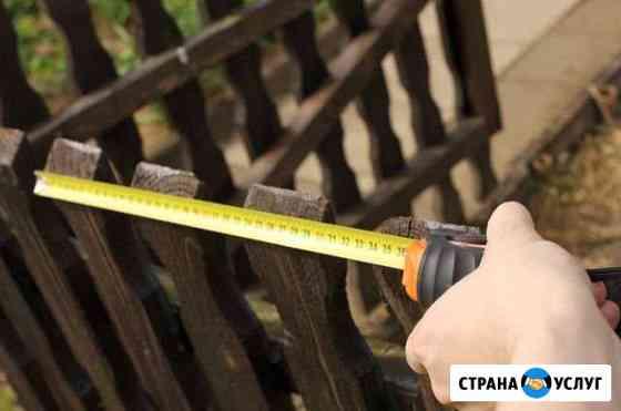 Вынос границ участка Томск