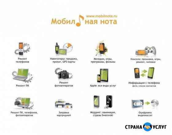Ремонт телефонов и планшетов Калининград