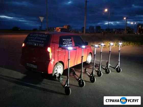 Прокат электро самокатов Тюмень