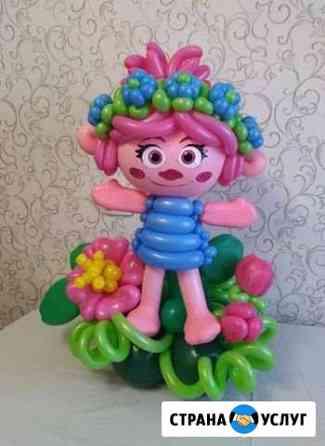 Фигуры,цветы,цифры из воздушных шаров Новый Уренгой