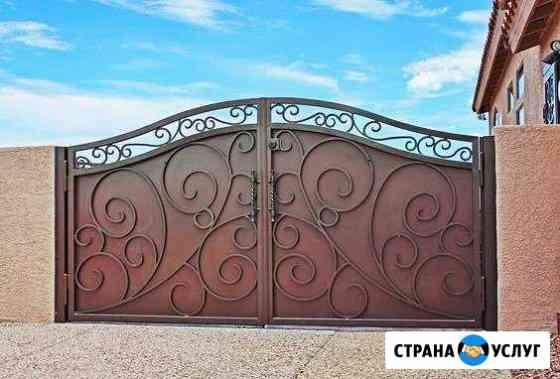 Кованые ворота Омск