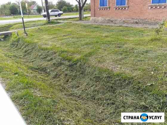 Покос травы Майкоп