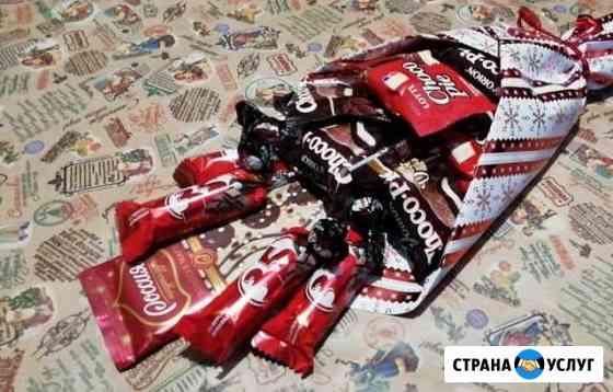 Букеты из конфет и других продуктов Барнаул