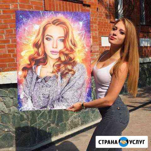 Фото на холсте, подарок №1 Пермь
