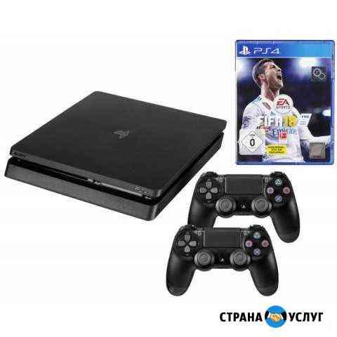 Аренда прокат Sony playstation 4 Сургут