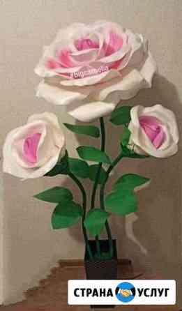 Ростовые цветы и ночники из изолона Новокузнецк