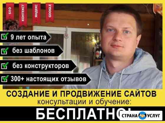 Создание сайтов, продвижение - частный вебмастер Ярославль