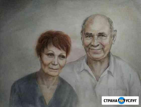 Портрет по фото Смоленск