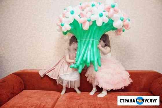 Букет/цветы из воздушных шариков. подарок на день Барнаул
