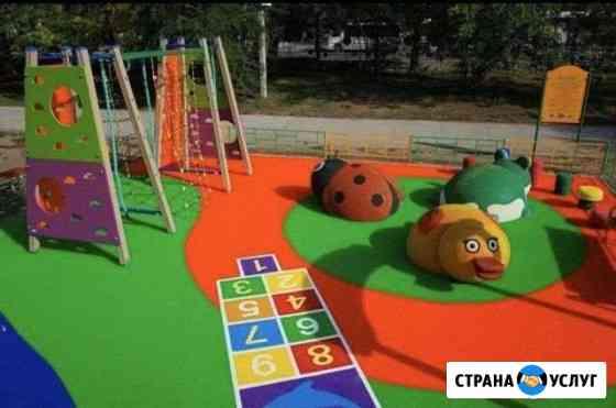 Бесшовное резиновое покрытие Новочебоксарск