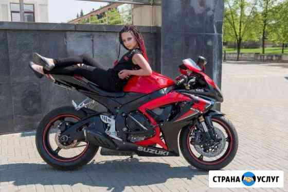 Спортивный мотоцикл Suzuki GSX-R600 для фотосессий Челябинск