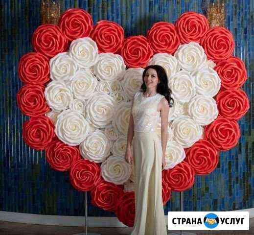 Свадебная фотозона Сердце Хабаровск
