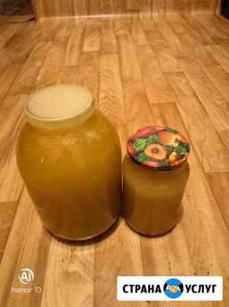 Продам мёд. цена за 1 литр 450 Шарыпово