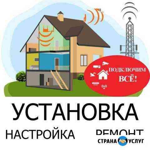 Интернет в частный дом, офис, ферма, производство Рыбинск