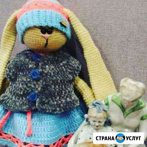 Вязаные игрушки Волгоград