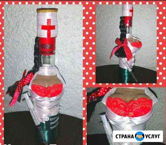 Оформление бутылки/Подарок Каменск-Шахтинский