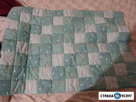 Шью и вяжу детские одеяло Краснооктябрьский
