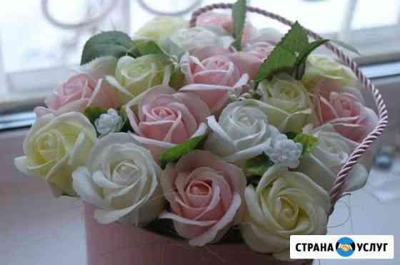 Букеты из мыльных роз Сыктывкар