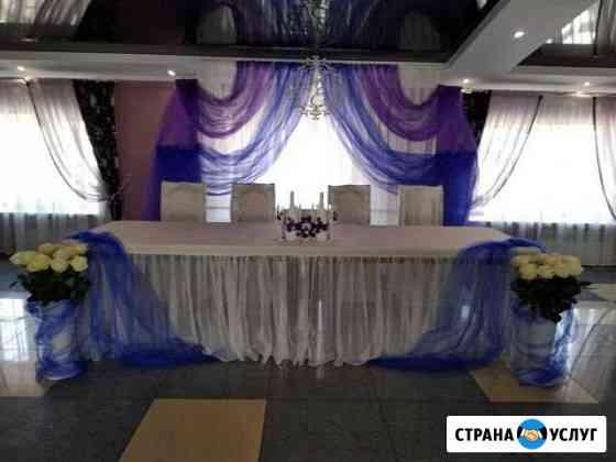 Оформление свадебного стола Липецк