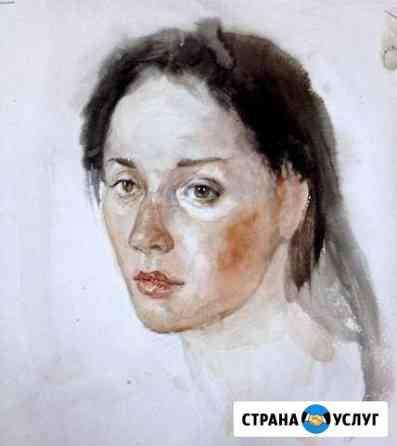 Портреты, шаржи по фото и картины на заказ Абакан