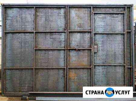 Сварка и сборка металлоконструкций, ворот Петрозаводск