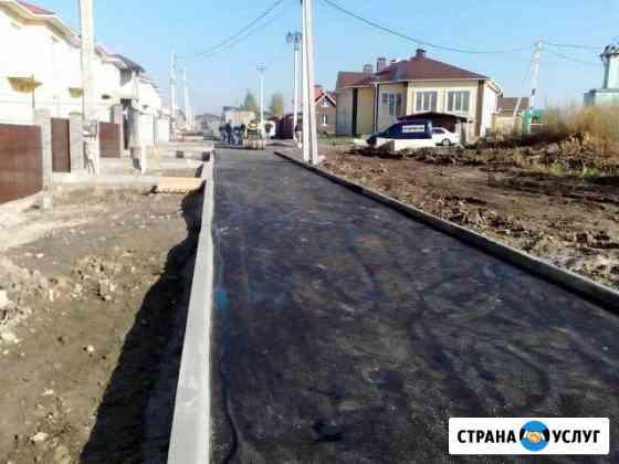 Асфальтирование,укладка тротуарной плитки Пермь