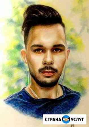 Рисую портреты/шаржи/картины на заказ Самара