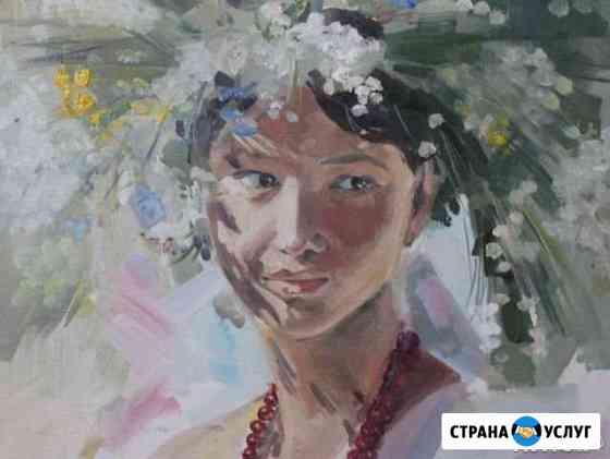 Портрет по фото,копии картин Тюмень