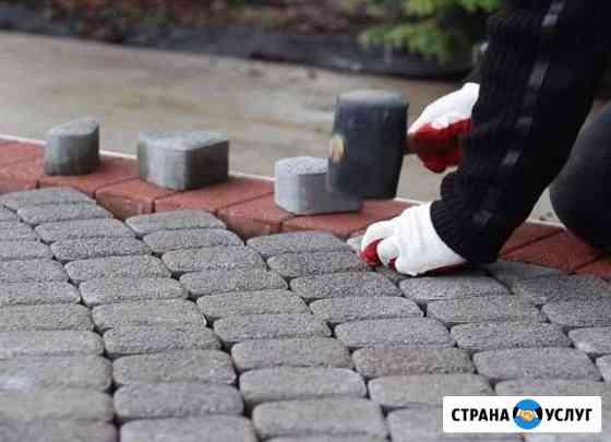 Укладка тротуарной плитки Брянск