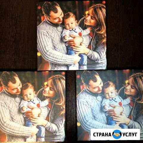 Печать фото и картин на холсте Казань