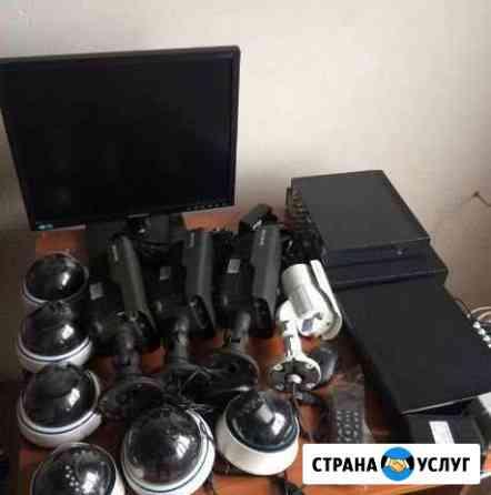 Установка видеонаблюдения Москва