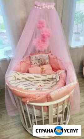 Бортики в детскую кроватку на заказ Каменск-Шахтинский