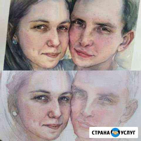 Пишу портреты акварелью Хабаровск