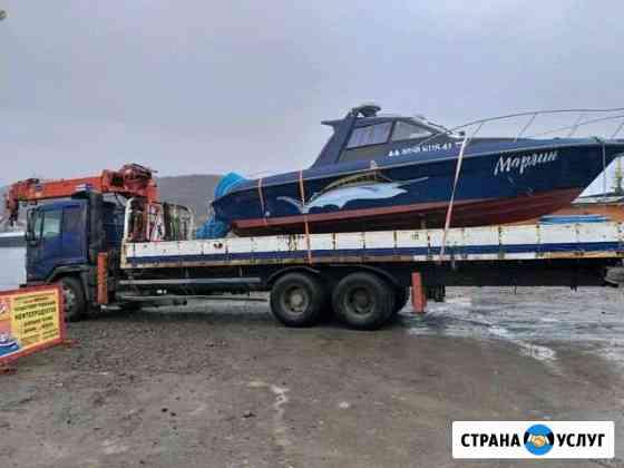Услуги манипулятора (варавайка) авто кран Петропавловск-Камчатский