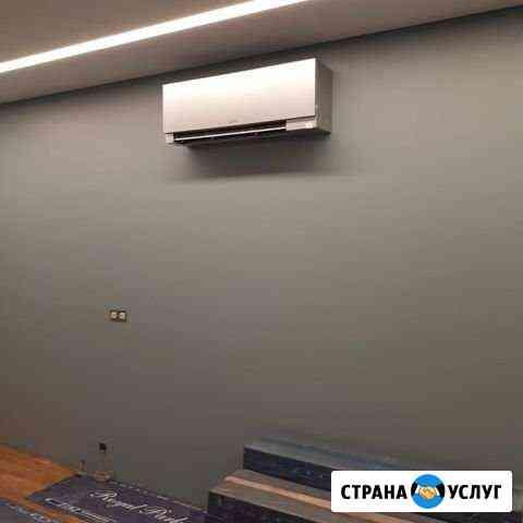 Установка кондиционеров в любых помещениях Московский