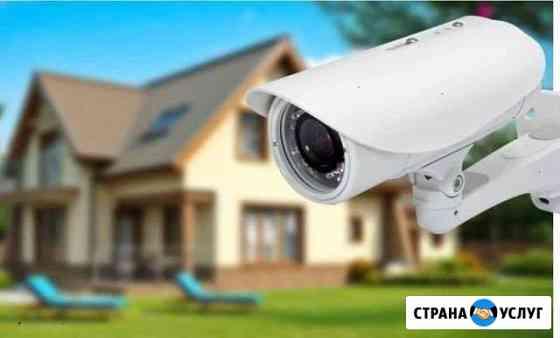 Установка видеонаблюдения Казань
