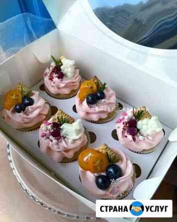Торты капкейки на заказ Оренбург