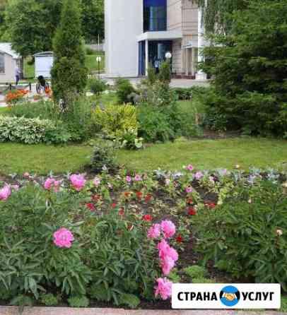 Ландшафтный дизайн садовник озеленение территории Ижевск