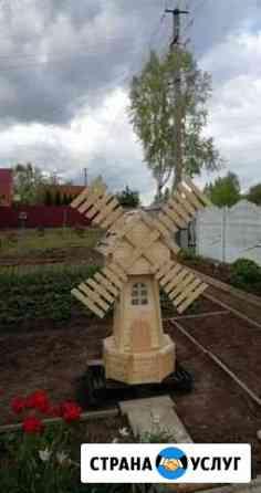 Изготовление декоративных мельниц Сафоново