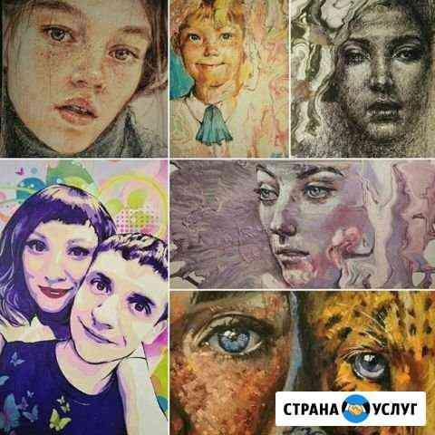 Портрет по фото Красноярск