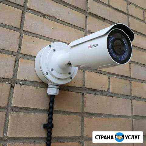 Монтаж видеонаблюдения и систем безопасности Ставрополь