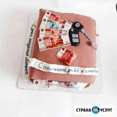 Капкейки, торты на заказ Сибирский