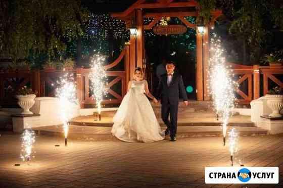 Холодные фонтаны на свадьбу Воронеж
