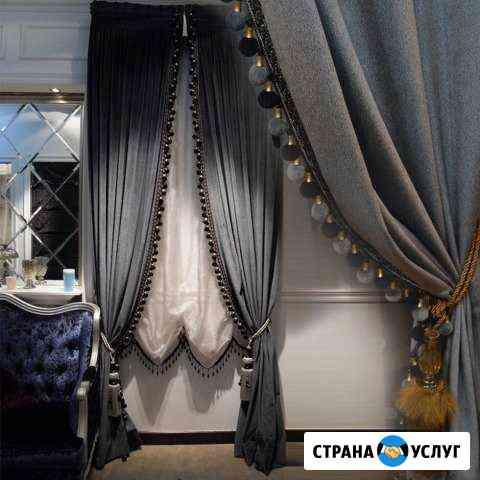 Пошив штор,карнизы,рулонные шторы Ижевск