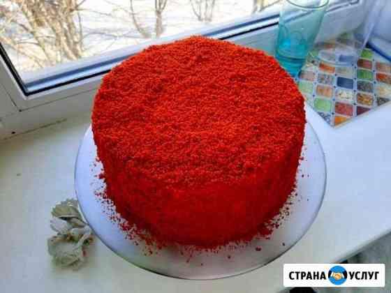 Домашние торты и выпечка на заказ Елизово