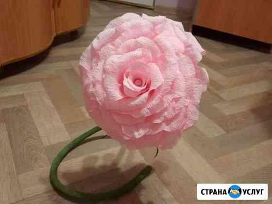 Изготовление искусственной розы Пермь
