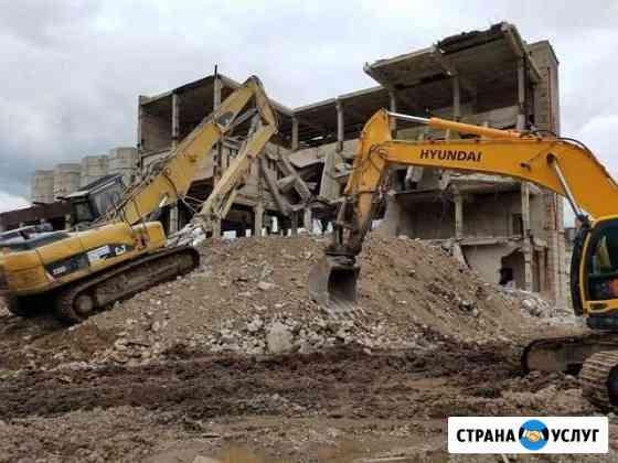 Демонтаж зданий и сооружений Волжск