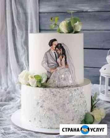 Свадебные торты на заказ от Шоколадницы Ипатово
